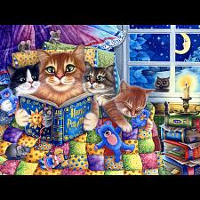Kittens' Bedtime -