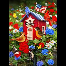 Patriotic Birdhouse -