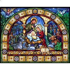 Stained Glass Holy Night -