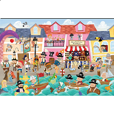Floor Puzzle: Pirates on Vacation -