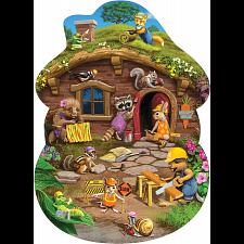 Floor Puzzle: Rabbits House -
