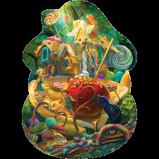 Floor Puzzle: Hansel & Gretel -