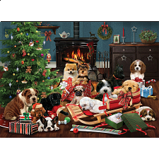 Christmas Puppies -