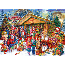 Christmas Limited Edition Puzzle - This Way to Santa -