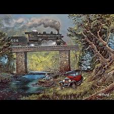 Blaylock - Rails on Dogwood Creek - 750 pieces -
