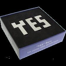 """YES"" Bars - Krasnoukhov Symmetry Puzzle -"