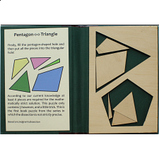 Puzzle Booklet - Pentagon to Triangle -