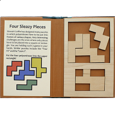 Puzzle Booklet - Four Sleazy Pieces -