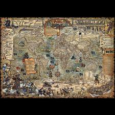 Map Art: Pirate World -