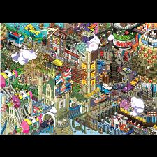 Pixorama eBoy: London Quest - Seek-and-Find Puzzle -