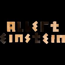 Albert Einstein's Letter Block Puzzle -