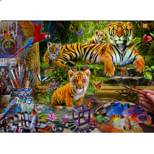 Tiger Painting -