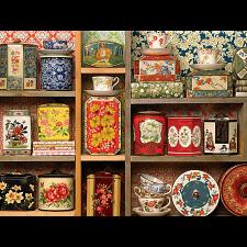 Tea Caddies - Large Piece -