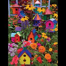Birdhouses - Large Piece -