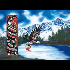 Blue Eagle - Large Piece -