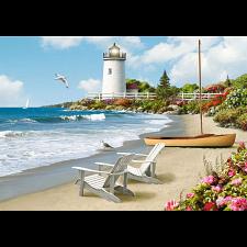 Sunlit Shores - Large Piece Format -