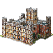 Downton Abbey - Wrebbit 3D Jigsaw Puzzle -