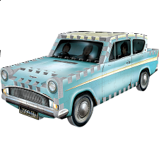 Harry Potter: Flying Ford Anglia - Wrebbit 3D Jigsaw Puzzle -