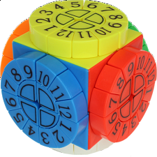 Time Machine Cube with Numbers - Stickerless -