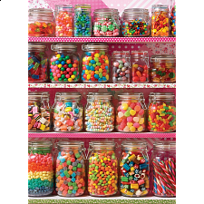 Candy Shelf - 500 Large Pieces -