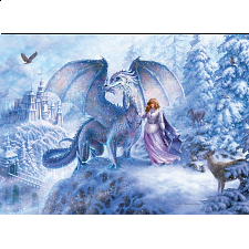 Ice Dragon - Family Pieces Puzzle -