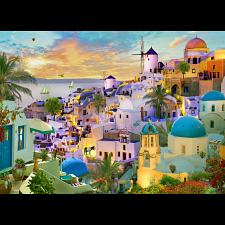 Santorini Sunset -