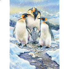 Penguin Family - Family Pieces Puzzle -