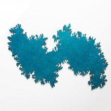 Infinity Wooden Jigsaw Puzzle - Turquoise -