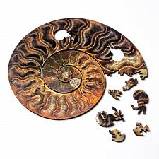 Ammonite Wooden Jigsaw Puzzle -