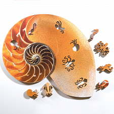 Nautilus Wooden Jigsaw Puzzle -