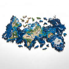 Earth Wooden Jigsaw Puzzle -