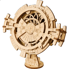 ROKR Wooden Mechanical Gears - Perpetual Calendar -