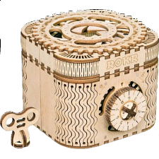ROKR Wooden Mechanical Gears - Treasure Box -