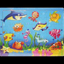 Little Moppet: Ocean Wooden Tray Puzzle -
