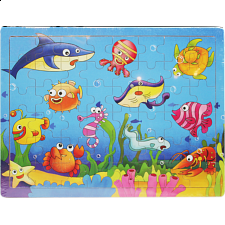Little Moppet: Ocean Wooden Tray Puzzle -