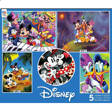 Disney: 5 in 1 Jigsaw Puzzle Multi-Pack -