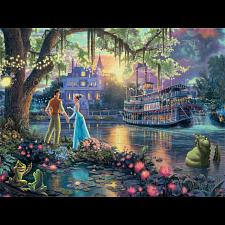Thomas Kinkade: Disney - The Princess and the Frog -