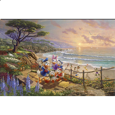 Thomas Kinkade: Disney - A Duck Day Afternoon -