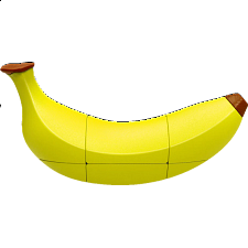 Fruit Series: Banana Cube -