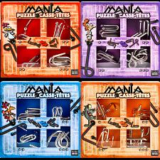 Puzzle Mania - Set of 4 -