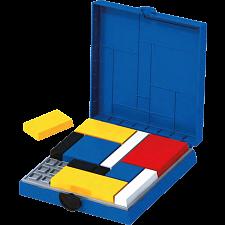 Mondrian Blocks - BLUE Edition -