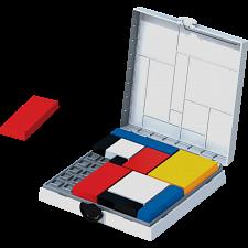Mondrian Blocks - WHITE Edition -