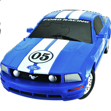 3D Puzzle Car - Ford Mustang FR500C -