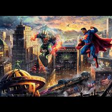 DC Comics: Thomas Kinkade - Superman Man of Steel -