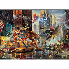 DC Comics: Thomas Kinkade - Women of DC -