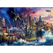 DC Comics: Thomas Kinkade - Justice League Showdown -