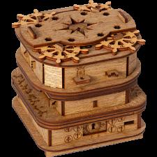 Cluebox: Davy Jones' Locker - 60 minute Escape Room in a box -