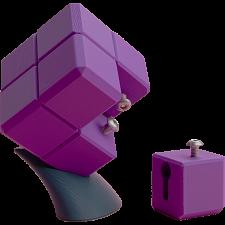 Key & Keyway Cube Puzzle -