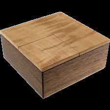 Karakuri Twist Box - Walnut -