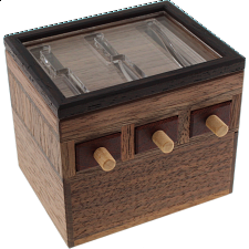 Karakuri Visible 3-Ary Drawer (Ternary) -
